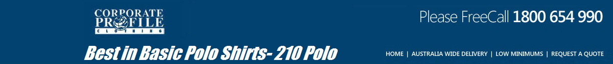 Best in Basic Polo Shirts- 210 Polo