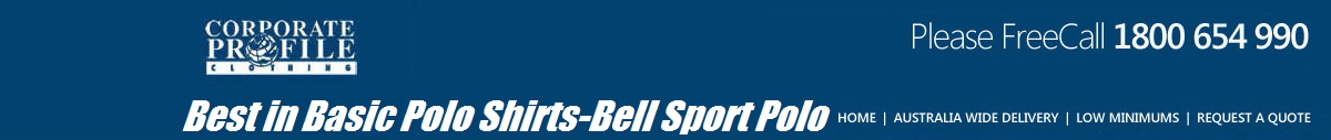 Best in Basic Polo Shirts-Bell Sport Polo