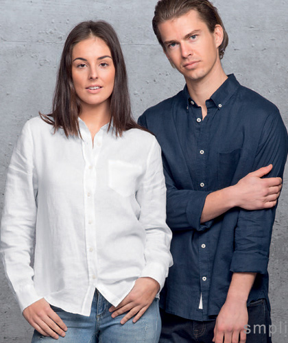 Linen Shirts Mens #SIL and Ladies #WSIL With Corporate Logo Service. Cool and comfortable linen. New Colours Navy, White. Mens Small-3XL and 5XL. Ladies 8-26 Bringing you a retail look with style and function. Perfect for hospitality, bars, summer sport clubs. Top notch logo service. Enquiries FreeCall 1800 654 990