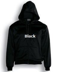Hoodie-#CJ1062-Black with Logo Service