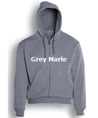 Hoodie-#CJ1062-Grey Marle with Logo Service