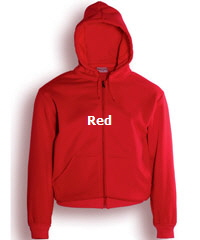 Hoodie-#CJ1062-Red with Logo Service