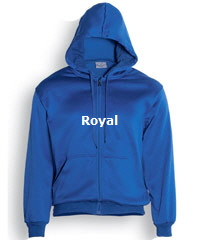 Hoodie-#CJ1062-Royal with Logo Service