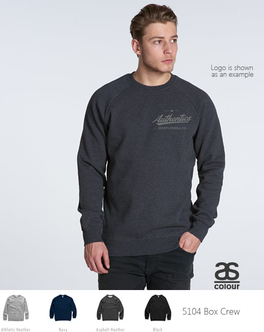 AS Colour Box Sweatshirt #5104, sample inspection service is available. Urban style, great quality. Perfect for football clubs, netball, basketball, in colours for Autumn-Winter 2016. Logo print and embroidery service available. Chunky 350gsm. Sizes XXS-3XL.
