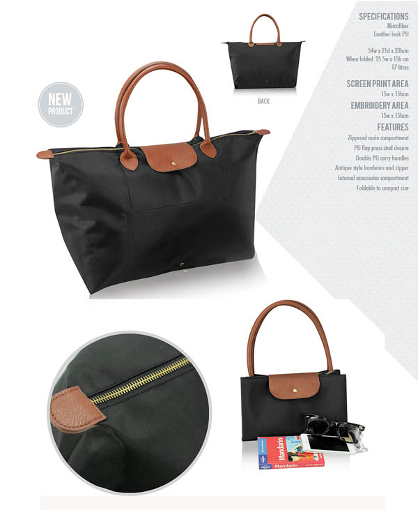 Foldable Tote Bag, product details