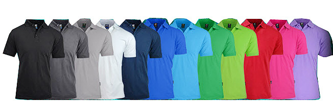An outstanding range of Cotton Polo Shirts for Company  Uniforms, outdoors and indoors. Great appearance and comfort, Colours include Purple, Apple, Kelly Green, Navy, White, Black, Slate, Cyan , Royal and Red. Corporate Sales FreeCall 1800 654 990.