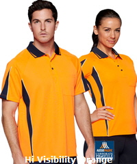 Aussie Pacific Premium Hi Viz Polo #1304 Premium Work Polo With Print Service, great appearance hi viz 160 gsm, driwear mini waffle knit. Featuring Driwear Moisture Removable Technology, easy care fabric. Sporty fit looks fantastic and popular style for women with Sizes 8 to 26 available. Easily coordinated with Shorts, Training Tees, Singlets and Tracksuits (Jackets) etc. For all the details please Renee Kinnear on FreeCall 1800 654 990.