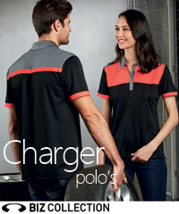 Charger-Polo-Shirt-Back-View