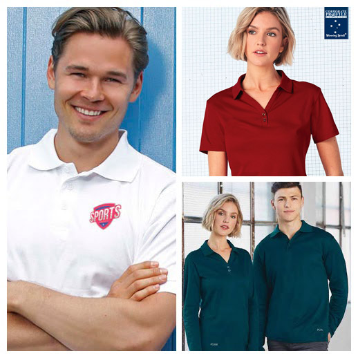 Comfortable, True Dry Polo is ideal for Business Outfit. True Dry features 60% Cotton Back fabric, soft against the skin and long life performance. Breathable moisture wicking pique.Black, White, Navy, Ruby Red, Ocean Blue, Steel Grey and Beige Corporate Profile Clothing FreeCall 1800 654 990