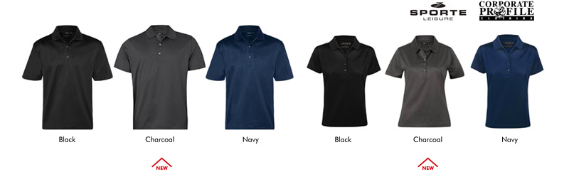 Mercerised Cotton Polo #SLC033S Colours Card With Logo Service