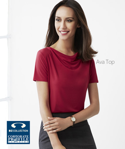 Ava-Ladies-Top-#K625LS-(RD)--also-available-in-7-Colours
