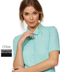 Corporate Reflection Prices for 2020 including Mint Colour Blouse #6301Q19 Staff Uniforms available in 3/4 Sleeve and Short Sleeve. The Climate Smart Range is available in 19 colours in Sizes 6-28. 100% Breathable Polyester. For all the details the best idea is to call Renee Kinnear or Shelley Morris on FreeCall 1800 654 990